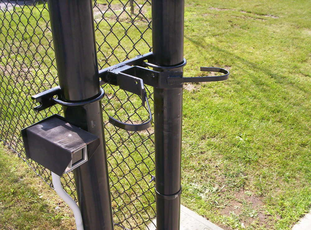 Custom Fabrication Round Hill Fence