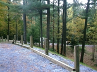 Wooden Guardrail
