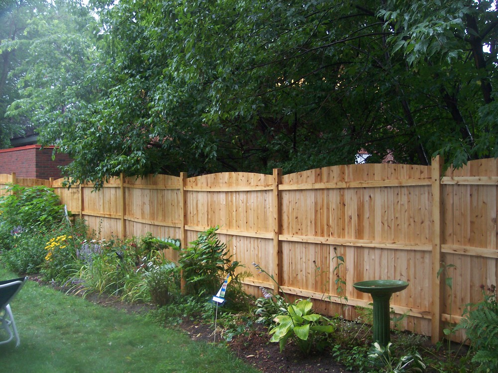 Backyard Fence Designs : Pics Photos  Privacy Backyard Fences Design