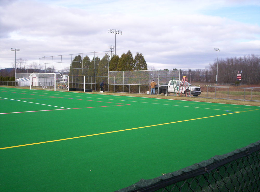 Athletic Fields Round Hill Fence