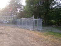 Chain Link Dugouts
