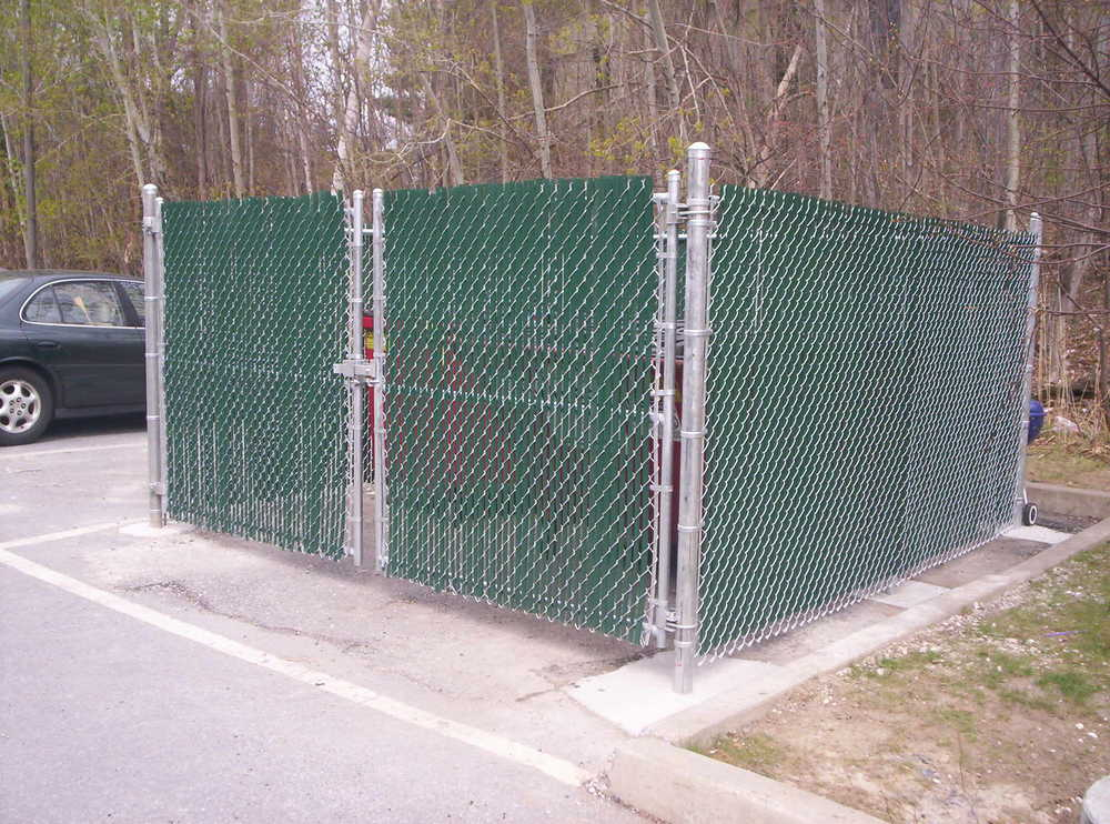 Dumpster Enclosures Round Hill Fence