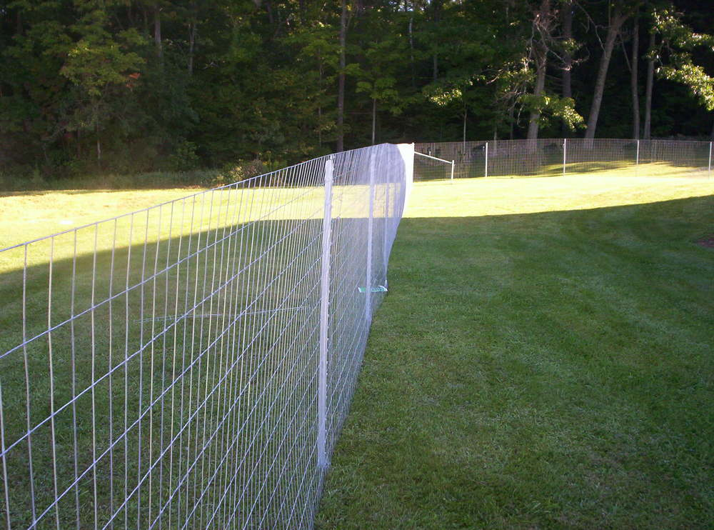 Install Wire Fence On Hill Peatix